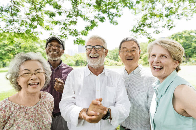 older people smile Wareham Dentist