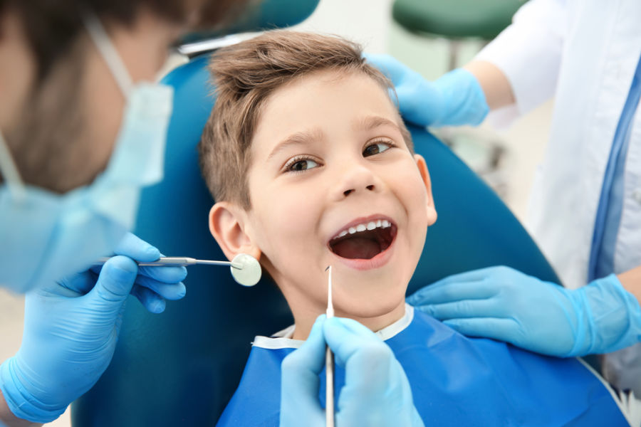 child dental patient dental sealants wareham ma