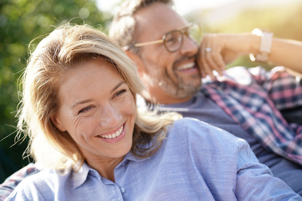 Couple smiling Dental Veneers Wareham MA